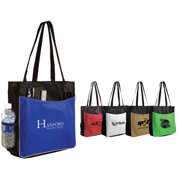 Imprinted Non-Woven Business Tote Bag