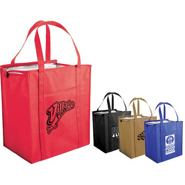 Customized Non-Woven Large Insulated Tote Bag