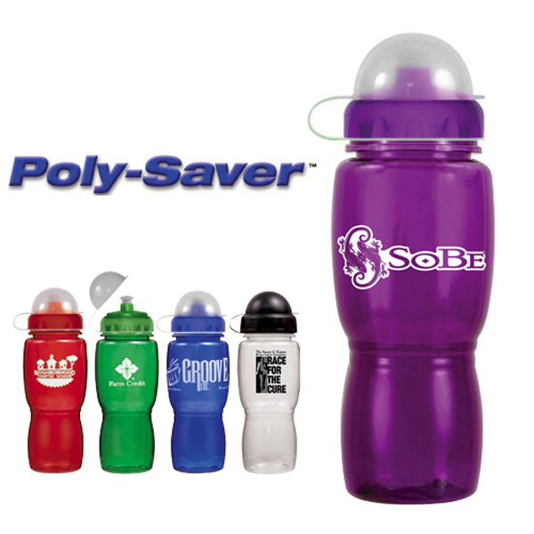 Personalized 18 oz. Poly-Saver Mate Bottle - BPA Free