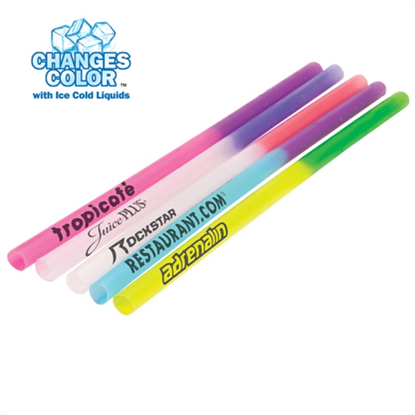 Printed Mood Straw