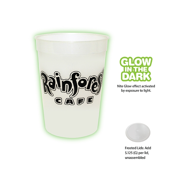 Custom 12 oz. Nite-Glow Stadium Cup