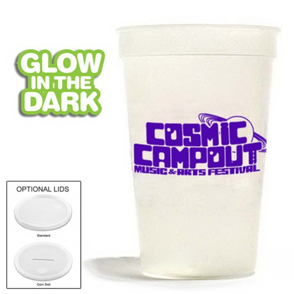 Personalized 17 oz. Nite-Glow Stadium Cup