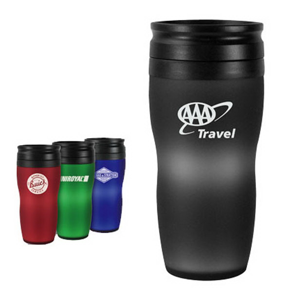 Customized 16 oz. Soft-Touch Tumbler