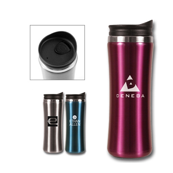 Imprinted 14 oz Laguna Stainless Steel Tumbler