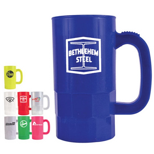 Imprinted 14 oz Beer stein