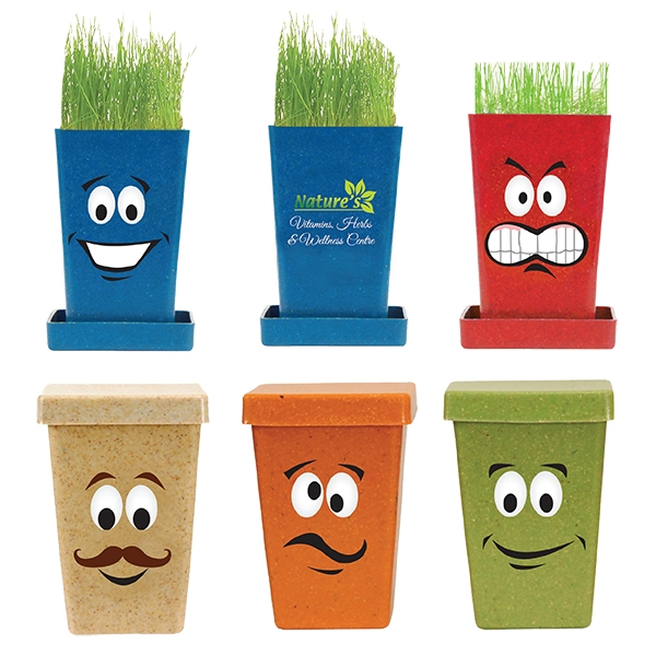 Custom Expression Planter, 1-Pack Planter, Full Color Digital