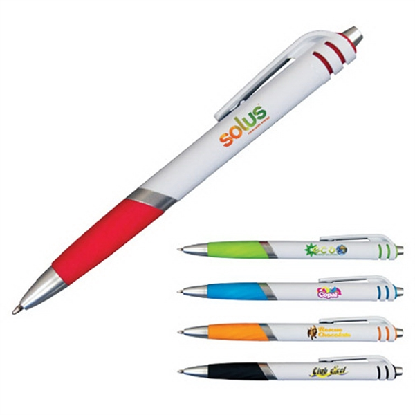 Promotional Carnival Grip Pen, Full Color Digital