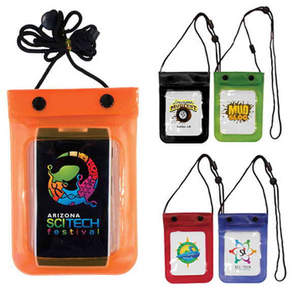 Personalized Waterproof Cell Phone Bag, Full Color Digital