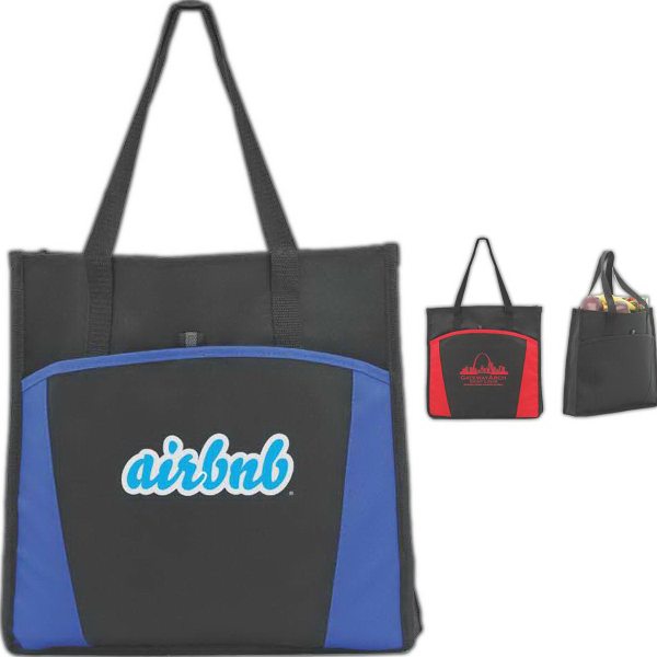 Imprinted Delphi Shopping Tote
