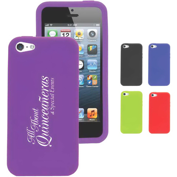 Imprinted Silicone Shell for iPhone 5