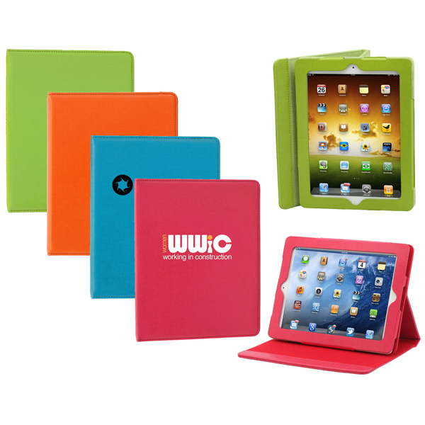 Personalized Vivid Color Case and Stand for iPad