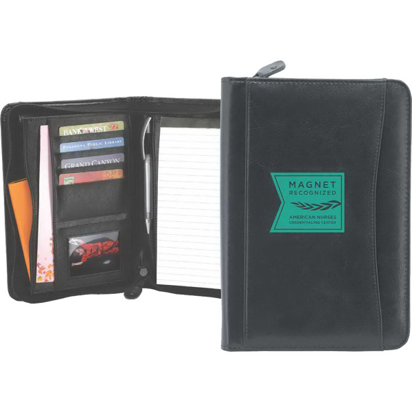 Printed Callahan Junior Zipper Padfolio