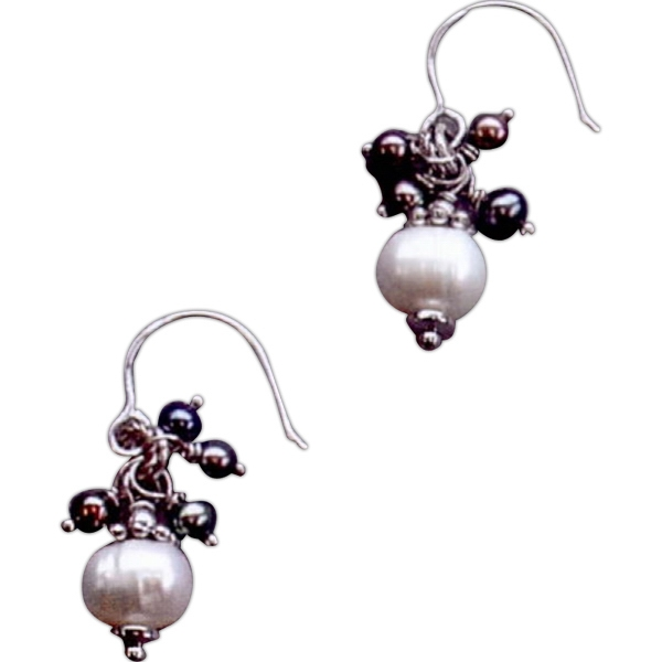 Personalized Pearl Cluster Earring
