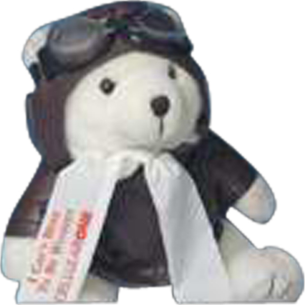 Printed Aviator outfit for stuffed animal