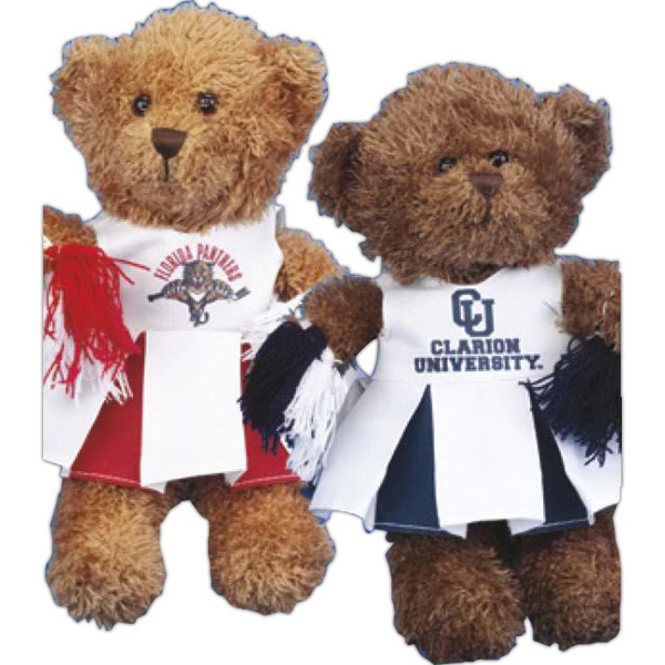 Imprinted Cheerleader outfit for stuffed animal