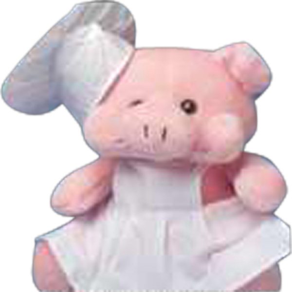 Imprinted Chef hat for stuffed animal