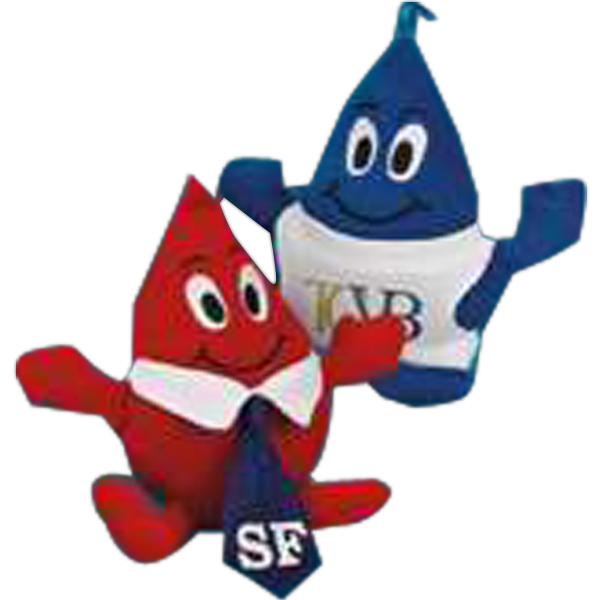 "Promotional Thrifty Blood Drop (TM) 6"" stuffed toy"