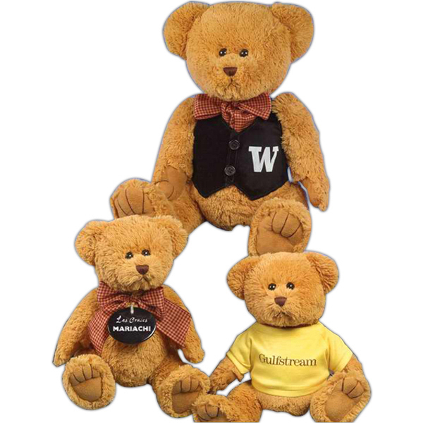 "Imprinted Willie Bear (TM) 12"" stuffed bear"