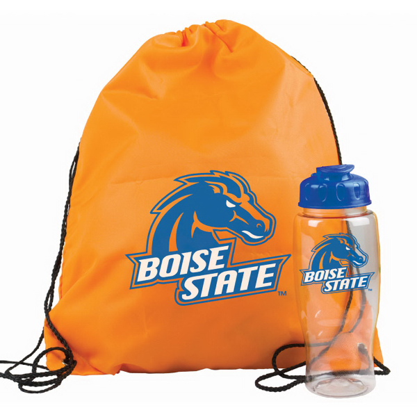 Personalized Drawstring Backpack in a Bottle
