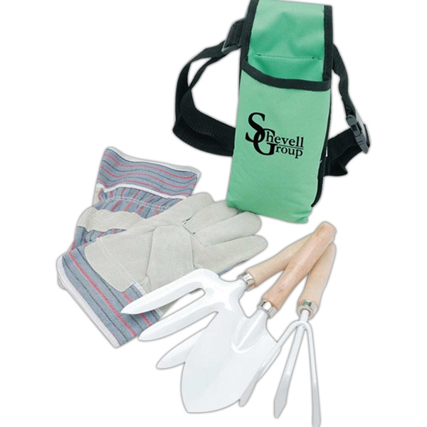 Custom Garden Tool Set with Apron