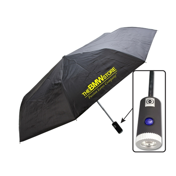 "Imprinted 42"" LED Umbrella"