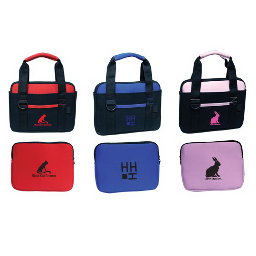 Personalized Neoprene Tablet Sleeve with Carry Bag