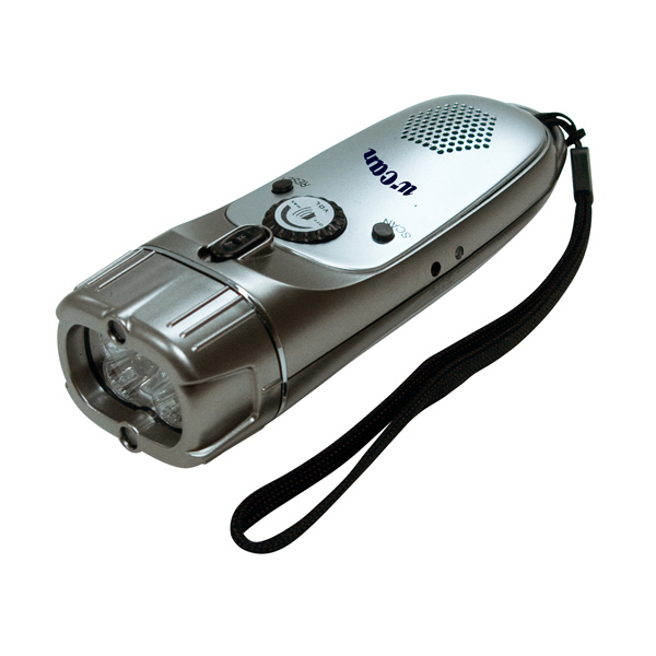 Promotional Wind-Up Radio / Flashlight