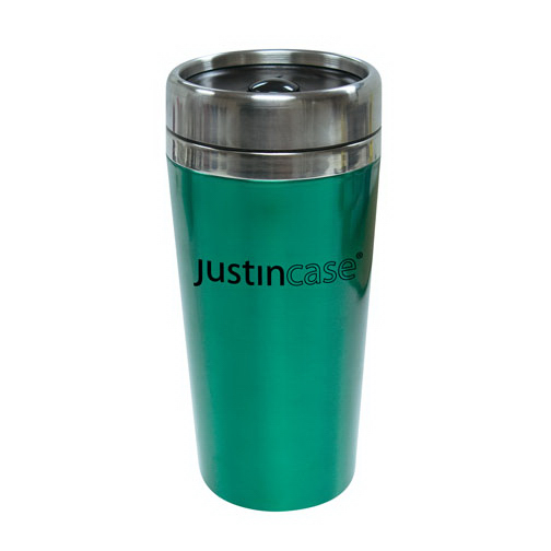 Promotional 16oz. / 473ml Stainless Steel Coffee Tumbler