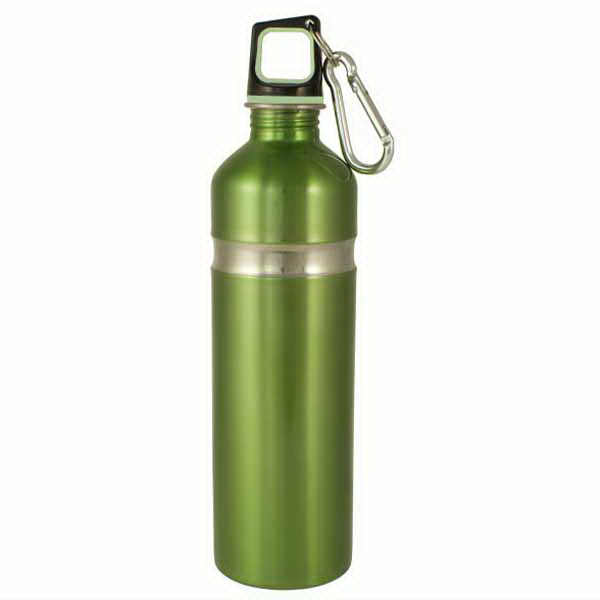 Printed Stainless Bottle with Carabineer