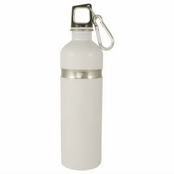 Personalized Stainless Bottle with Carabineer