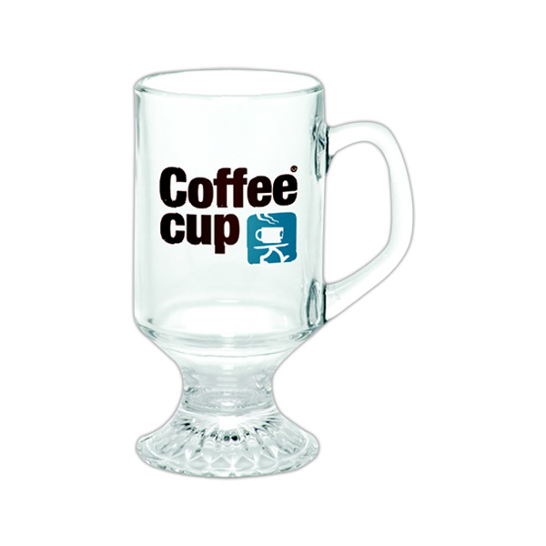 Customized Irish Glass Coffee Mug
