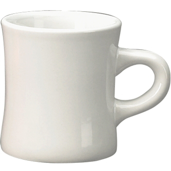 Printed Vitrified Ceramic Diner Mug
