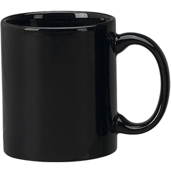 Promotional Vitrified Ceramic C-Handle Mug
