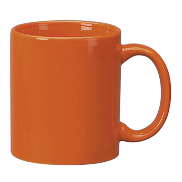 Personalized Vitrified Ceramic C-Handle Mug