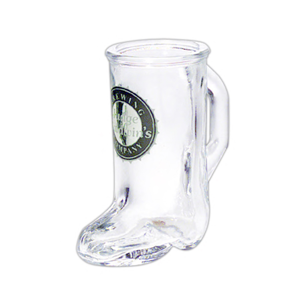 Printed Boot Shot Glass