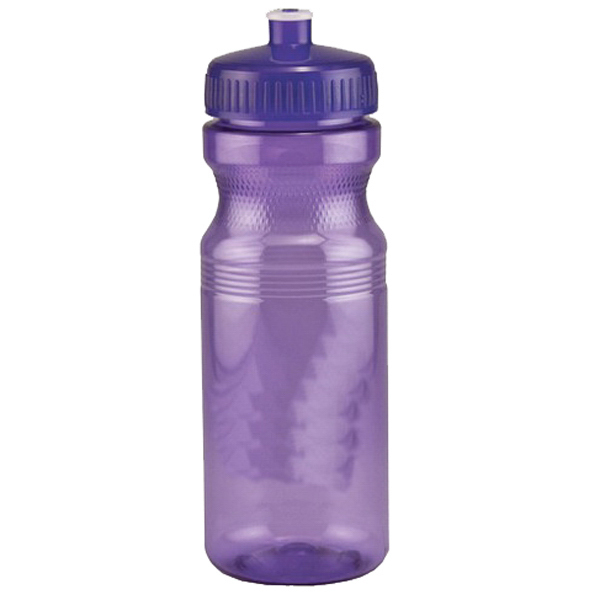 Printed Plastic Bike Sports Bottle