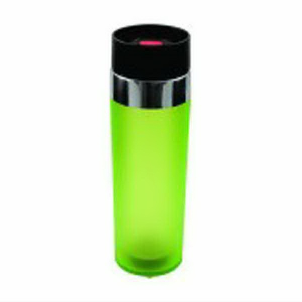 Imprinted Acrylic Double Wall Push Button Lid Tumbler
