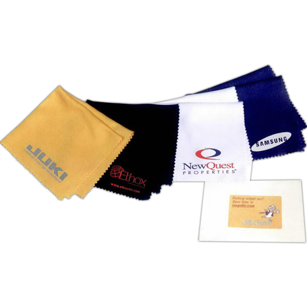 Imprinted Microfiber cleaning cloth