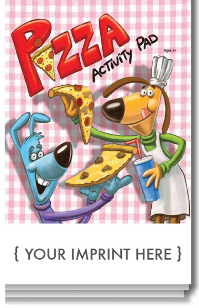 Printed Pizza Activity Pad