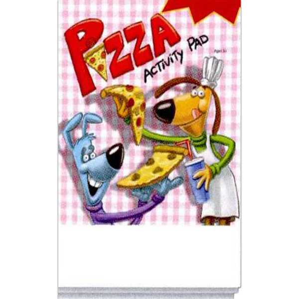 Printed Pizza Activity Pad Fun Pack