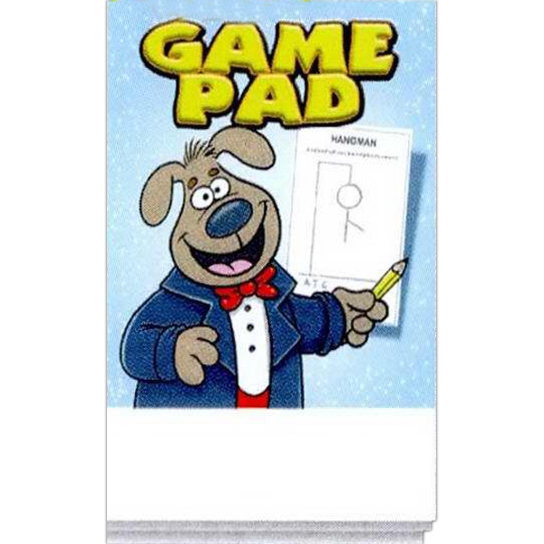 Personalized Game Pad Activity Pad Fun Pack