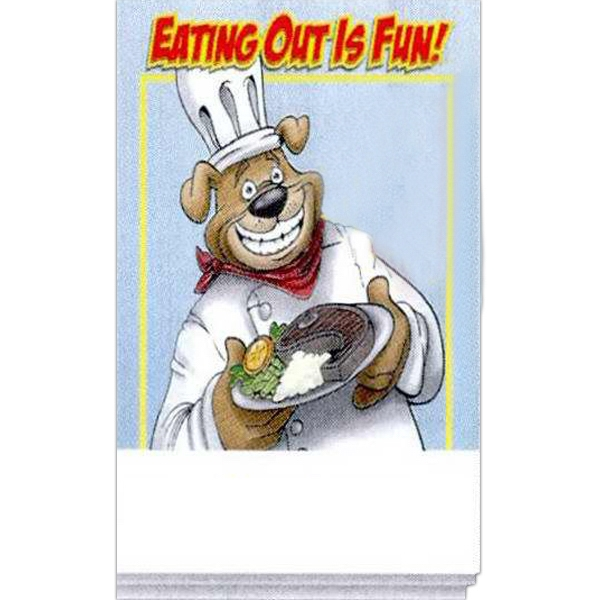 Imprinted Eating Out Activity Pad Fun Pack