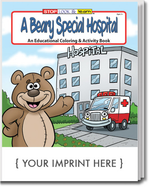 Imprinted A Beary Special Hospital Coloring And Activity Book