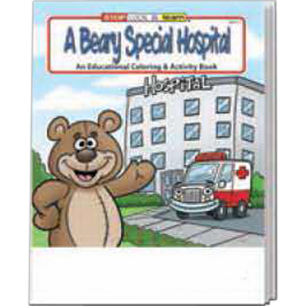 Customized A Beary Special Hospital Coloring And Activity Book Fun Pack