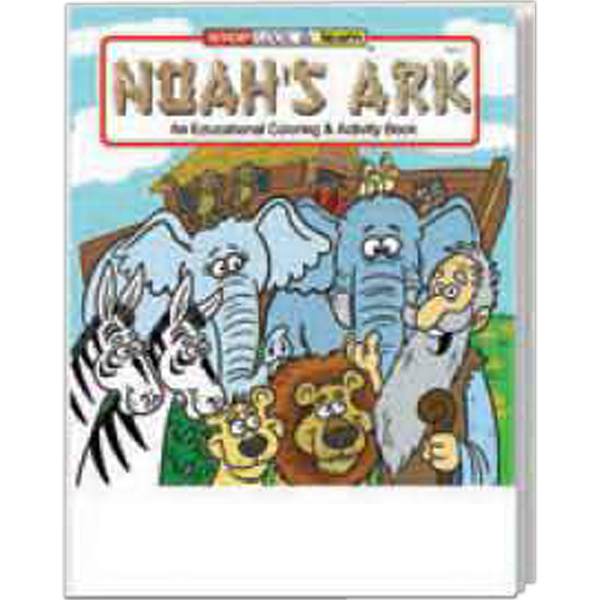 Custom Noah's Ark Coloring And Activity Book Fun Pack