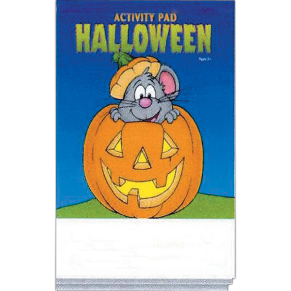 Imprinted Halloween Activity Pad Fun Pack