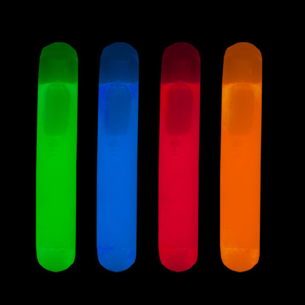 Printed Blue Mini Glow light Stick Replacements