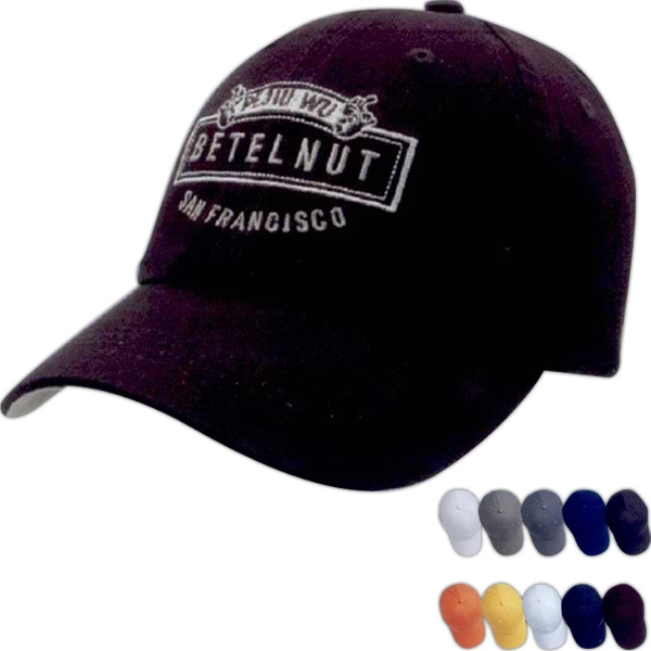 Personalized Unconstructed Chino Washed cotton Twill Cap