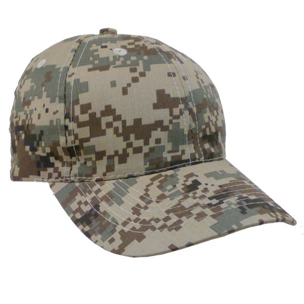 Personalized Digital Camo Dark Cap