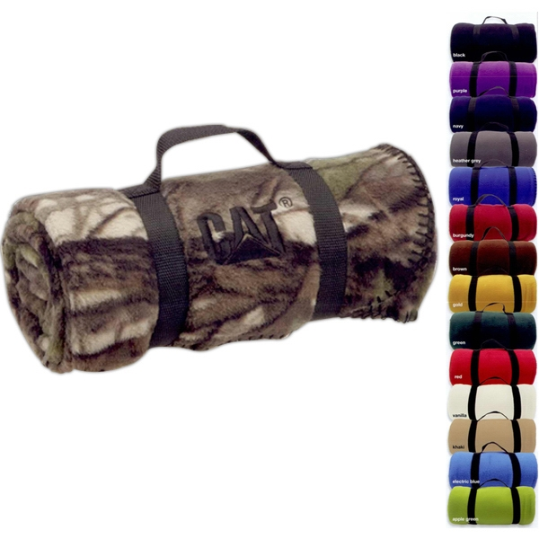 Imprinted Camo nature blanket